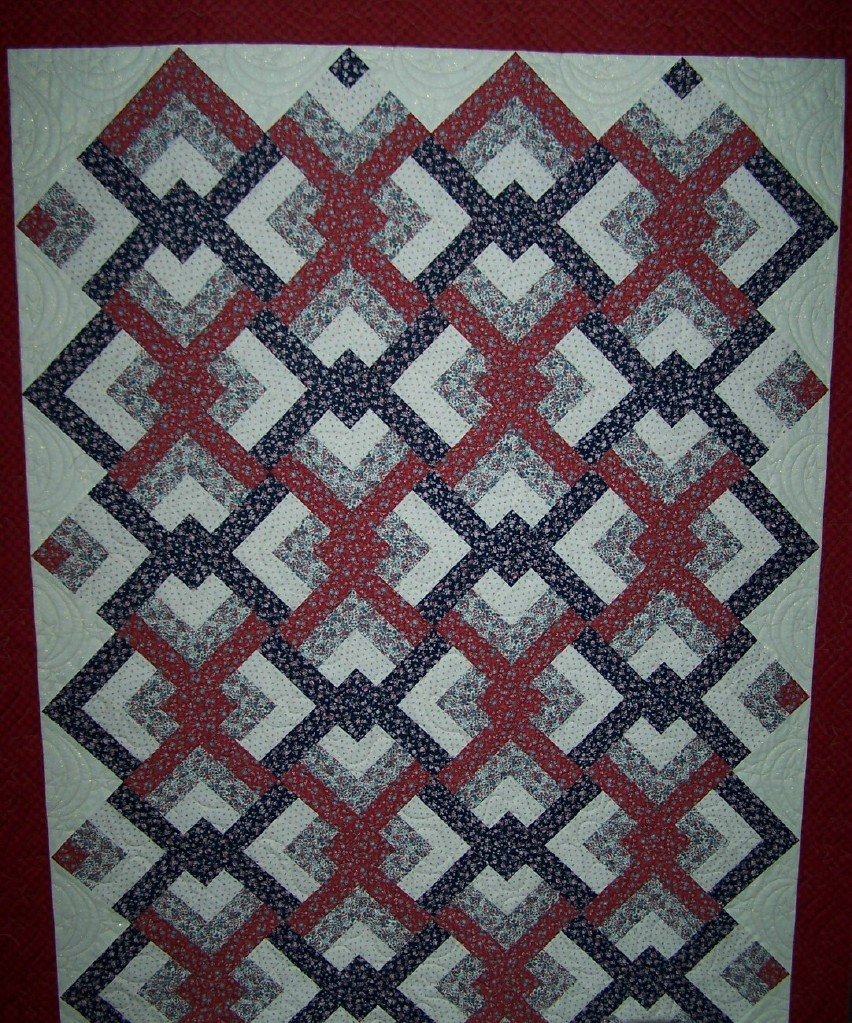 Quilt Patterns For Quilts Of Valor : Quilt of Valor Quilted napquilting