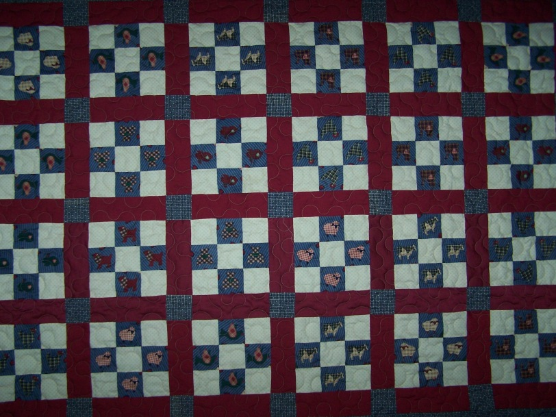 Kid's Quilt 9Patch